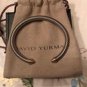 David Yurman Jewelry - 💯 Authentic David Yurman cable bracelet